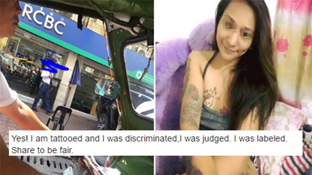 'Inked' UP graduate discriminated at local bank