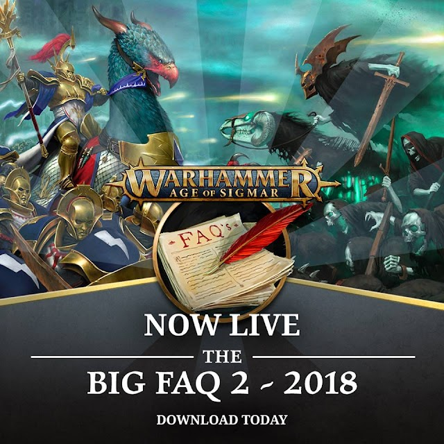 New Age of Sigmar FAQs.... Are Live Now