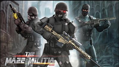 MazeMilitia: LAN, Online Multiplayer+ Mod + Data