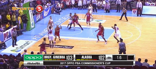 Ginebra def. Alaska, 103-102 (REPLAY VIDEO) May 7