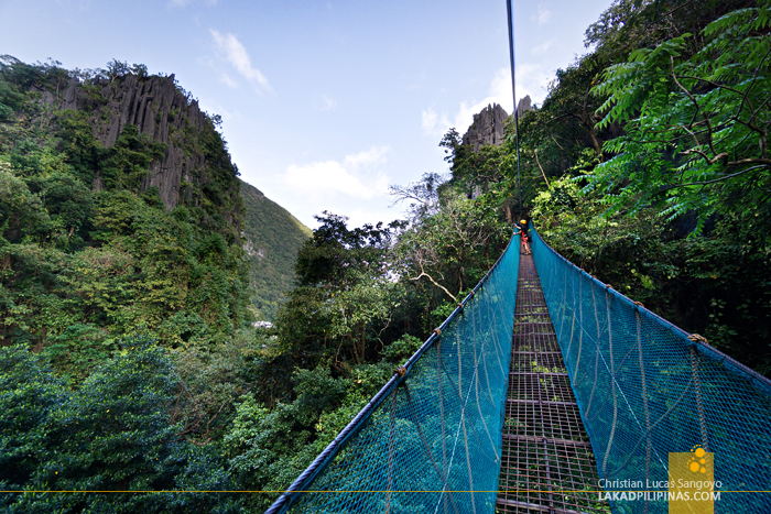 El Nido Canopy Walk Hanging Bridge