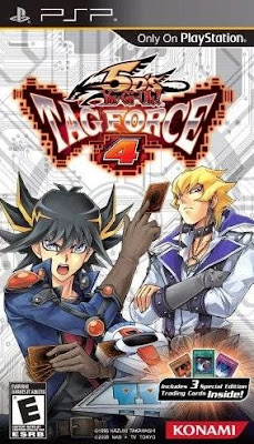 YU GI OH 5ds Tag Force 4 CSO ISO PPSSPP