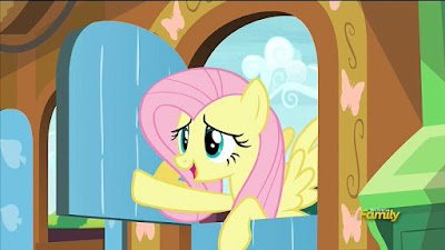Fluttershy says goodbye to her furry friends