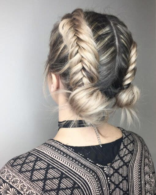 pretty Braided Hairstyle You Need For Summer 2018