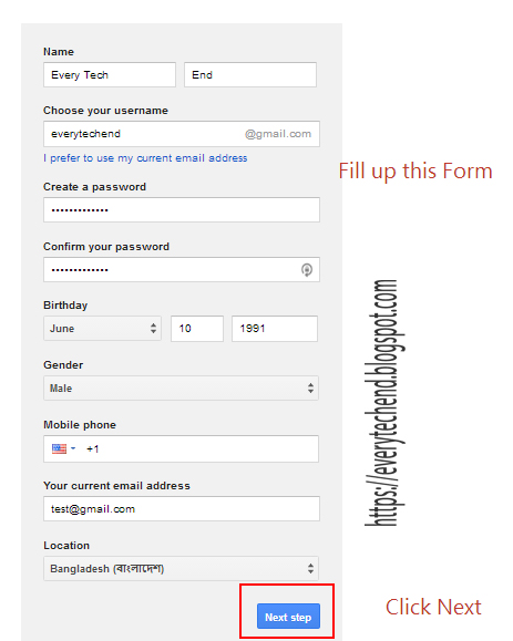 how to create a signature in gmail account
