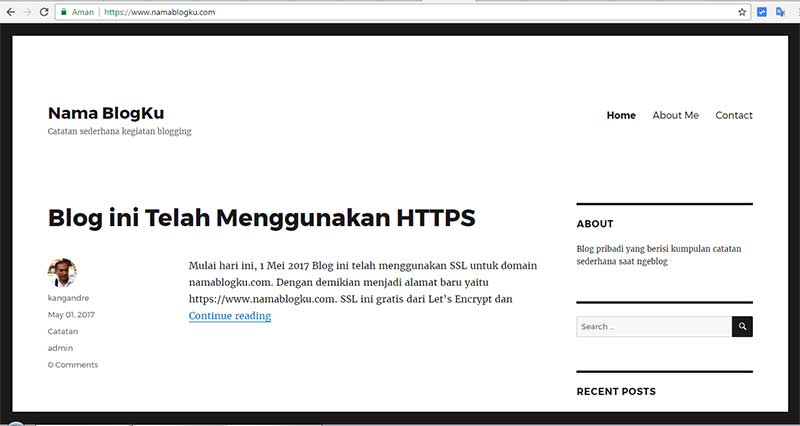 Blog Baru Catatan Ngeblog