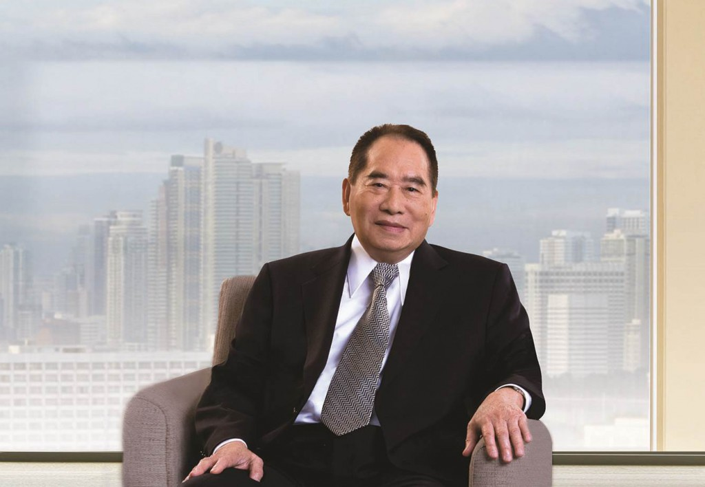 Mall and real estate tycoon Henry Sy remains the richest man in the land.
