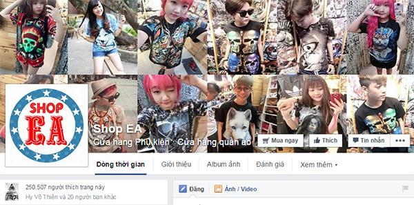 ban page facebook