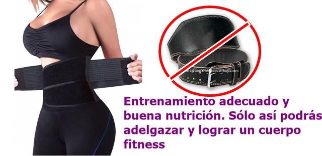 No vas a quemar más grasa por apretar más y más tu cinturón