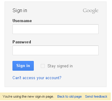 A New Sign-in Page for Gmail is On its Way! 1
