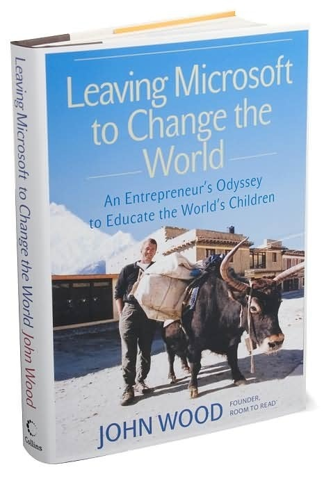 My Random Thoughts...: Leaving Microsoft To Change The World