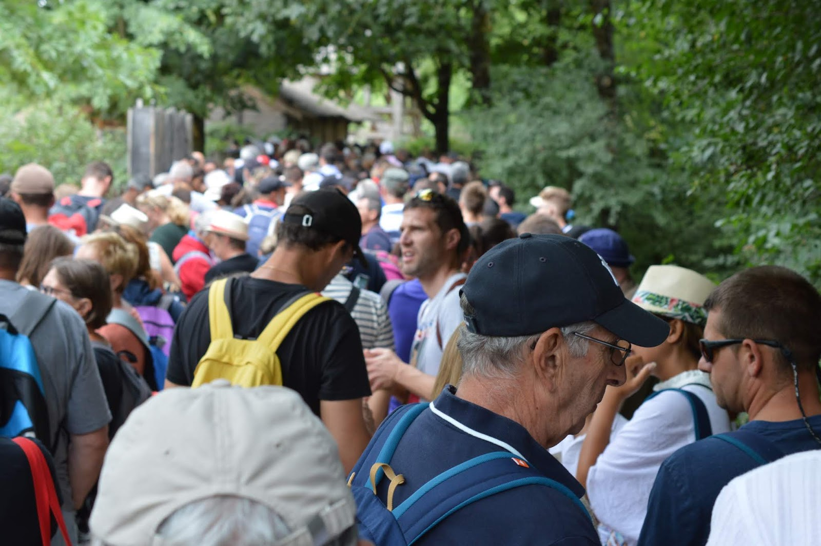 Puy du Fou Theme Park, France - - show queues