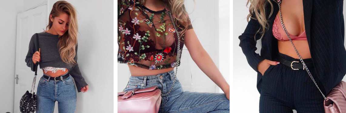 Fashion influx, lingerie influences seen on instagram, lydia rose millen, underwear as outerwear
