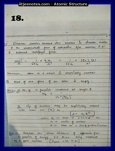 Atomic Structure Notes1