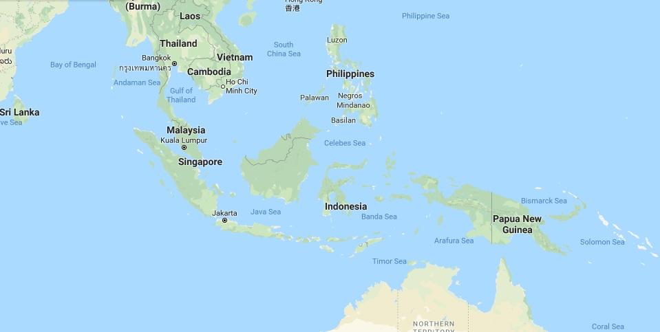 Gambar Peta Indonesia Terbaru 2017 Versi Google Map Letak Geografis