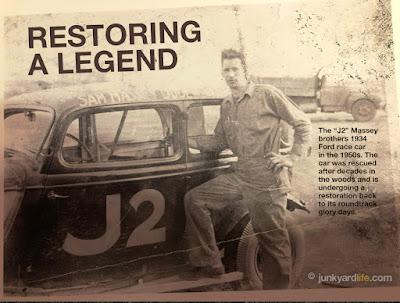 Joe Massey poses with car.