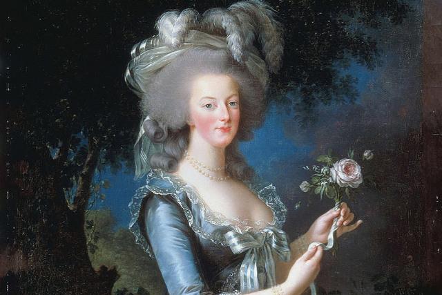 portrait et tableau de marie antoinette par louise elisabeth vigée le brun 1783