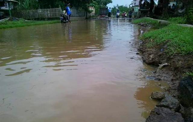 Banjirvdesa muara blanakan subang banjir