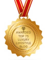 Ranked No. 5 in Top 75 Luxury Lifestyle Blogs 2017