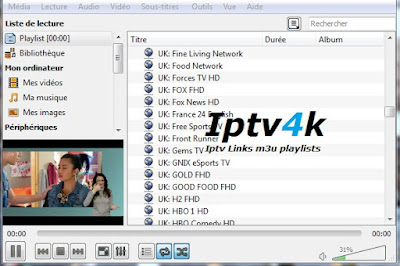 Free Iptv Playlist France M3u Channels Update Url Liste