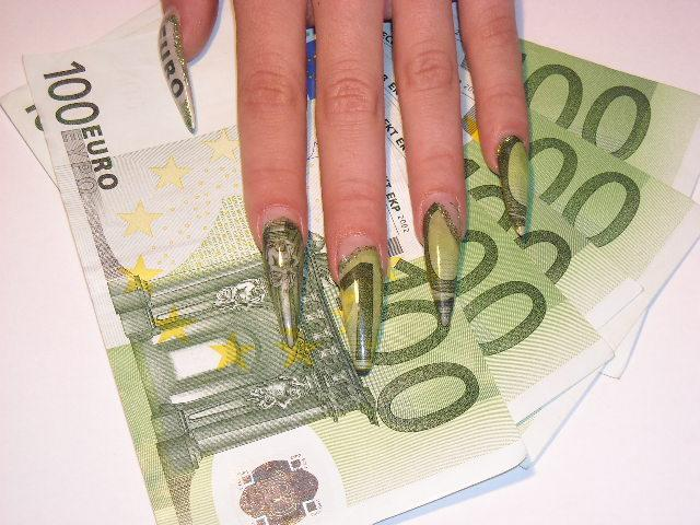 Funky Nails: Money Nail Art$$$