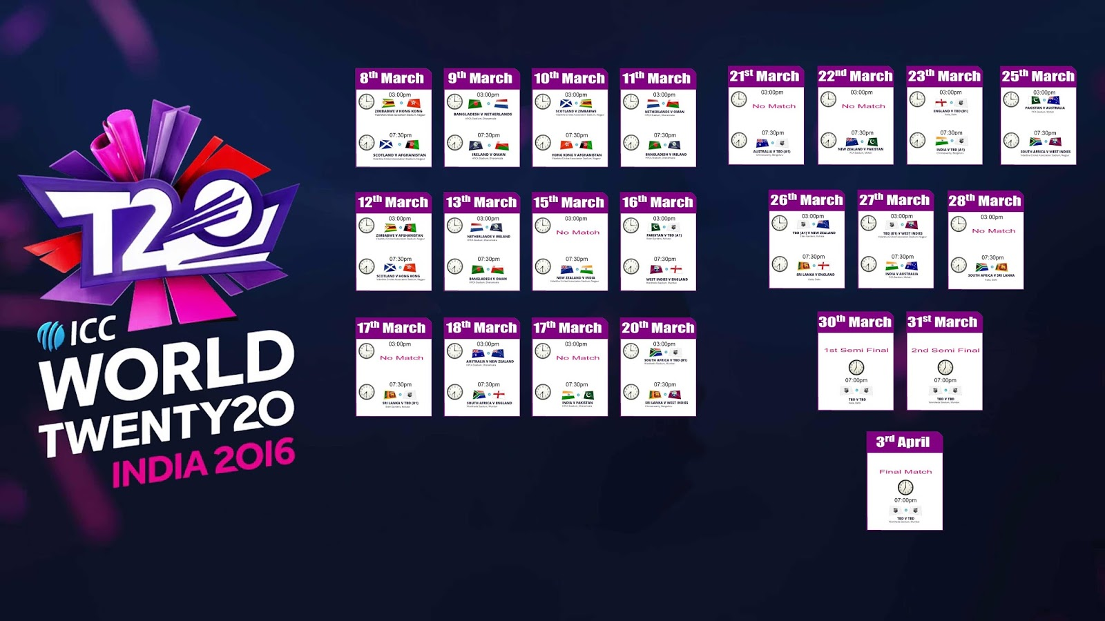 Icc Cricket World Cup 2015 Schedule In Ist Pdf