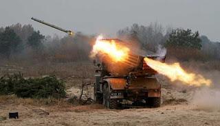 Artileri Roket Ukraina