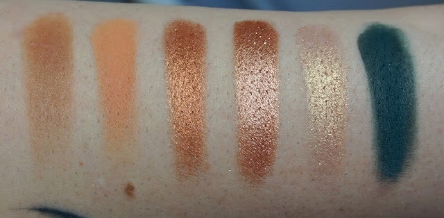 Swatches Palette Dream St de Colourpop