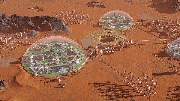 Surviving Mars PC Game Free Download Screenshot 1