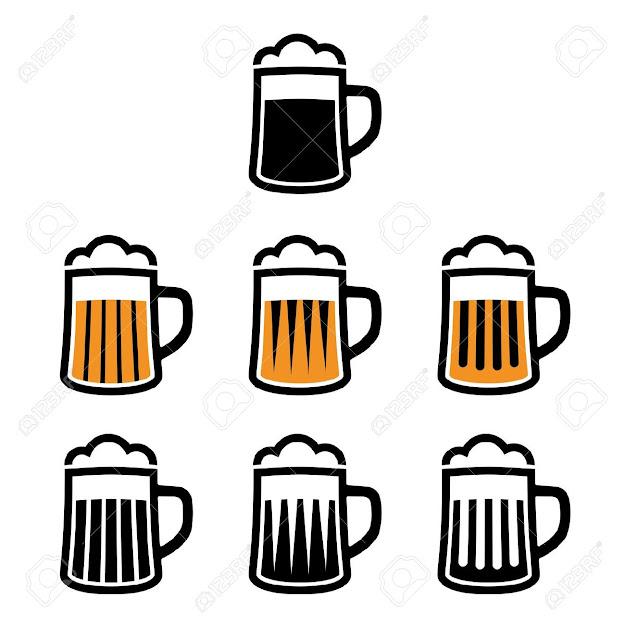 Beer Mug Vector Beer Mug Symbols Illustration