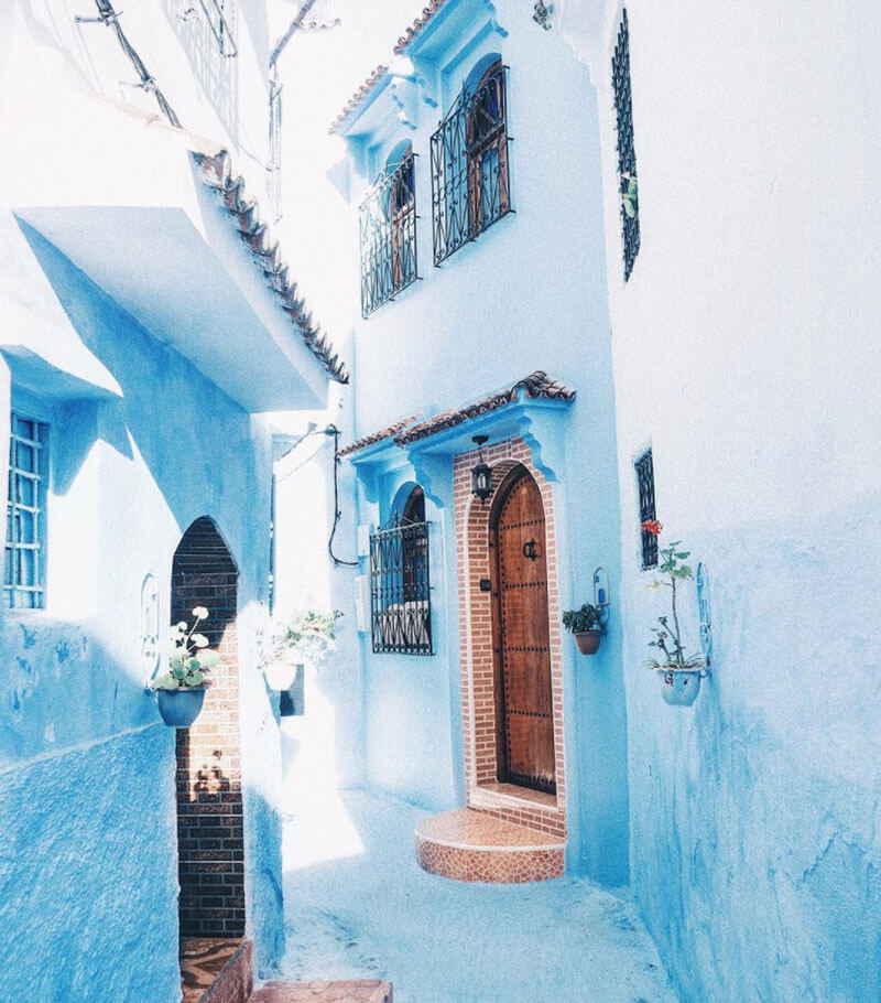 32 Stunning Places on Earth You Should Visit Before You Die - Chefchaouen, Morocco