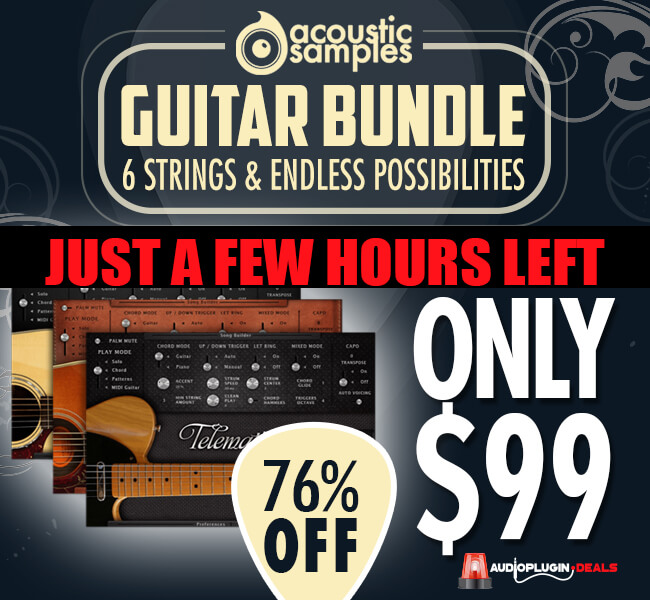 Last Day To Grab The Audio Plugin Deals Acousticsamples 3-In-1