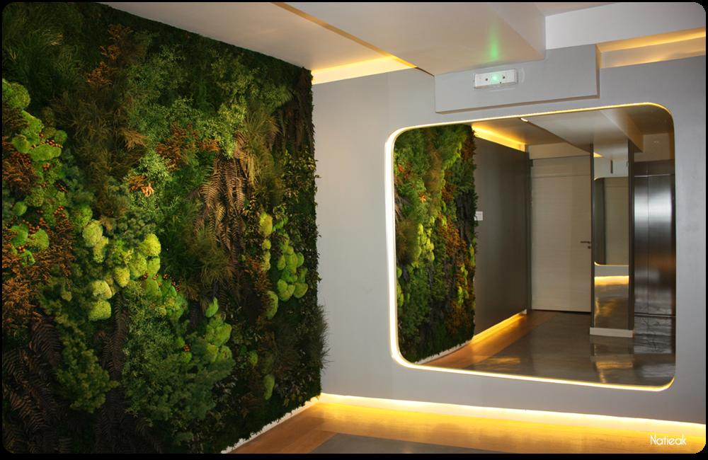mur végétal parisien