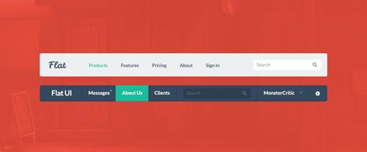 Membuat Menu dengan efek Property CSS Fixed