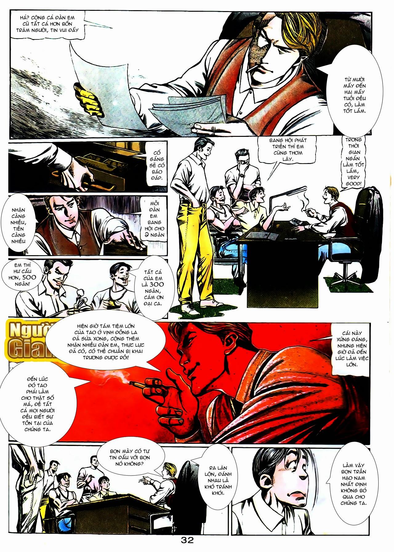 Người Trong Giang Hồ chapter 104: tuổi trẻ máu lửa trang 12