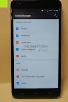 """Einstellungen Netzwerke: HOMTOM HT30 3G Smartphone 5.5""""Android 6.0 MT6580 Quad Core 1.3GHz Mobile Phone 1GB RAM 8GB ROM Smart Gestures Wake Gestures Dual SIM OTA GPS WIFI,Weiß"""