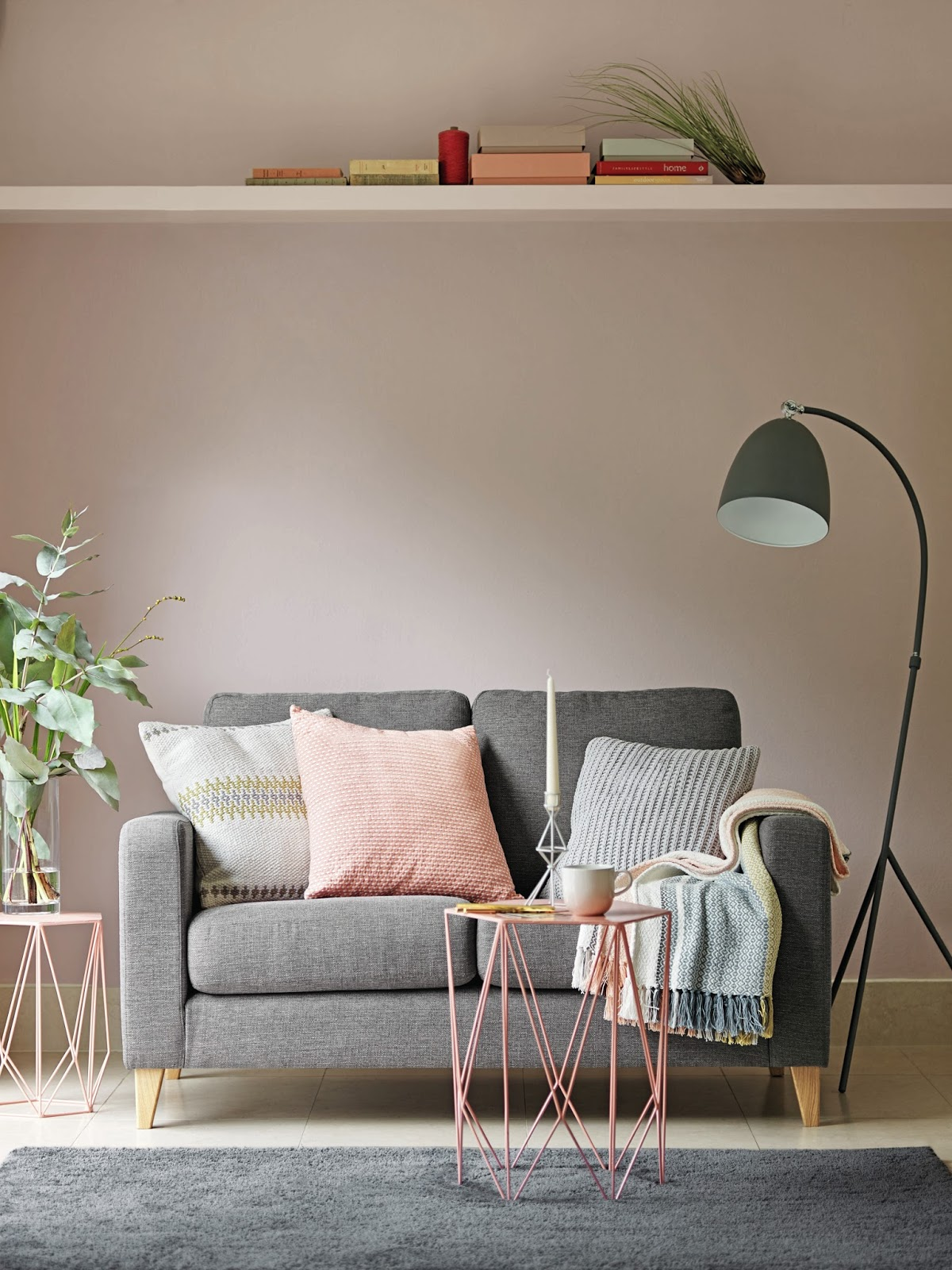 mamasVIB | V. I. BUYS: How to refresh your grey living room with Spring's hottest pastel hue