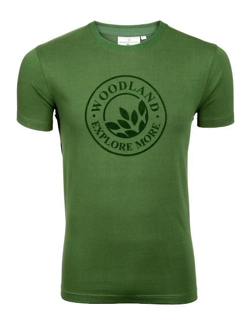 Men T shirt from Woodland
