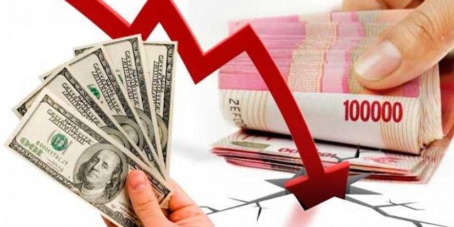 Rupiah Merosot Di Angka 15.267 Per Dolar AS