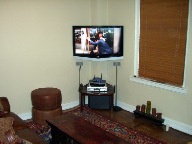 In Most Caddy Corner Tv Installations Customers Choose Furniture Under Option Call Us To Discuss Your Installation Options