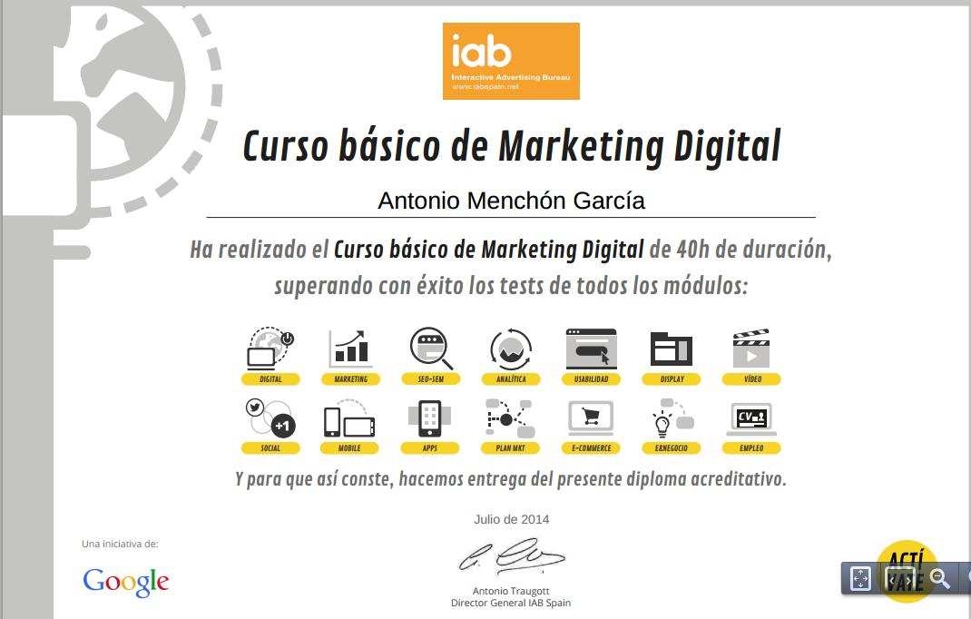 marketing digital curso gratis google