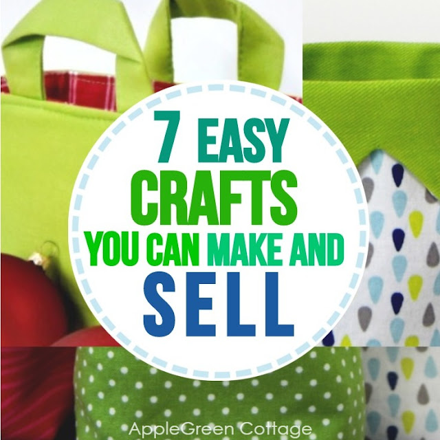 7 Easy Crafts To Make And Sell Applegreen Cottage