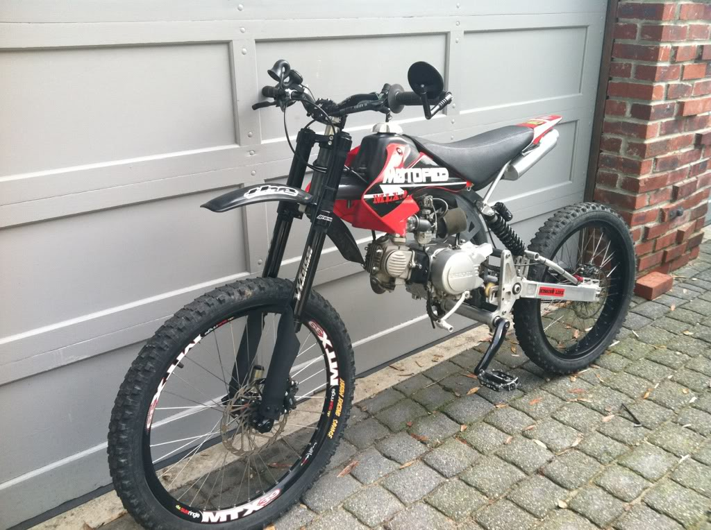 Honda Motorized Mountain Bike