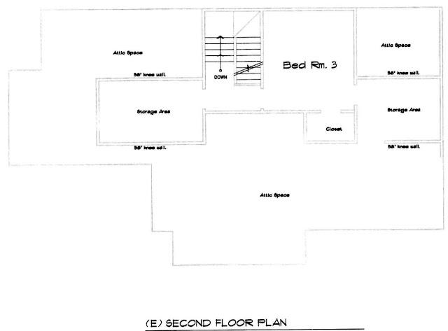 2209 SE Bybee, Portland, Oregon, Second Floor Plan