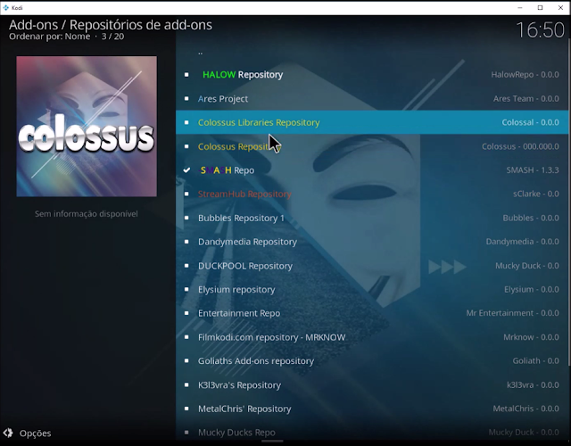 Colossus Libraries Repository