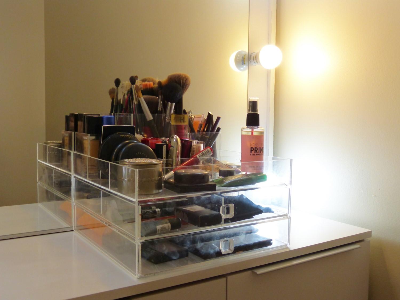 Organizador de maquiagem Do Jeito H by Hubby