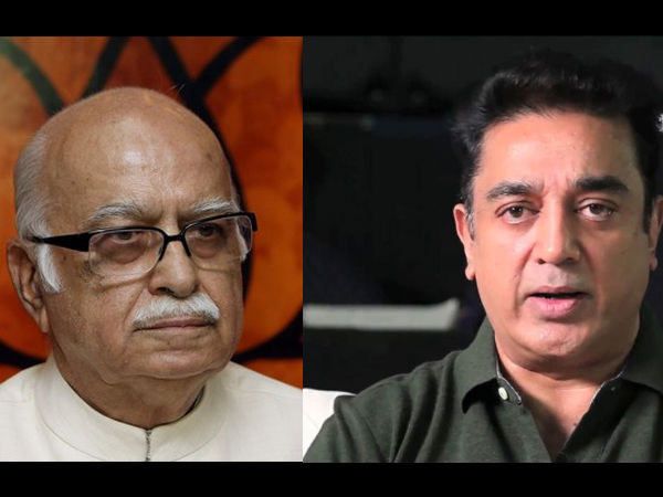 kamal haasan as aadvani in narendra modi's biopic