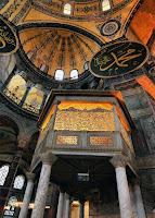 İstanbul Ayasofya Camisindeki Hünkar Mahfili