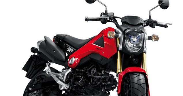 honda msx 125 mini moto vs kawasaki ksr new motorcycle. Black Bedroom Furniture Sets. Home Design Ideas