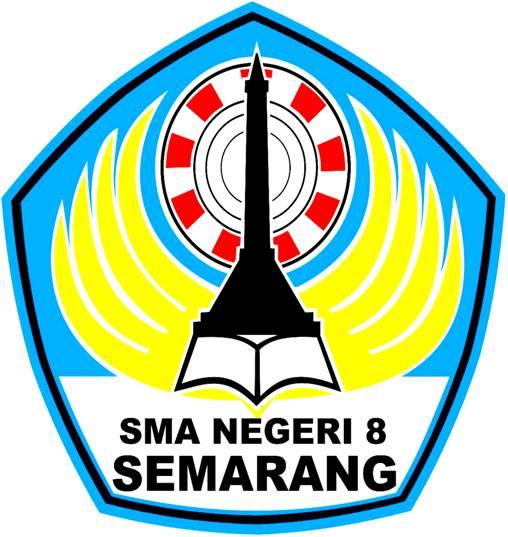 Ari Ponco Sumari Logo SMA 8 Semarang